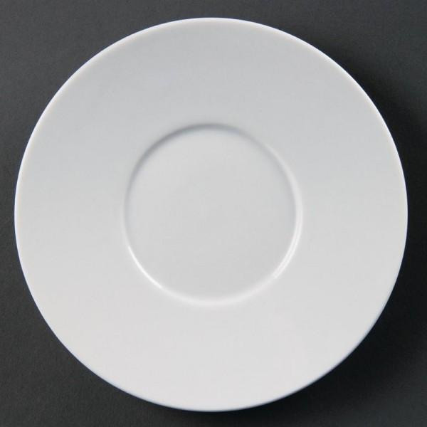 Olympia Whiteware Untertassen für CD735 12 Stück