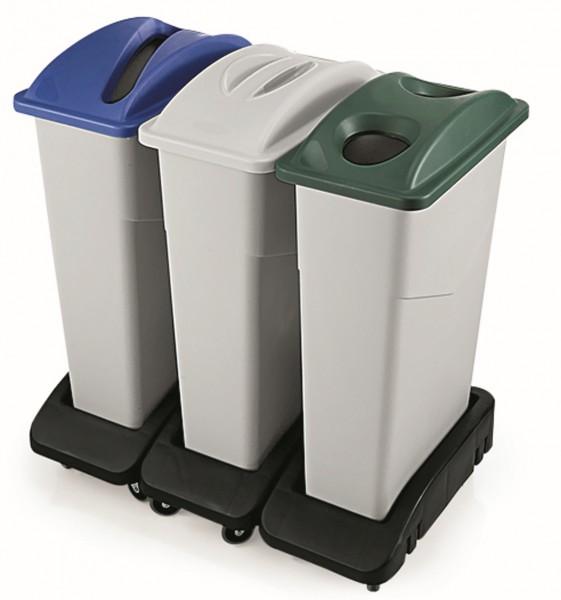 Deckel mit zwei Löchern für Abfallbehälter 9227 750, Polypropylen