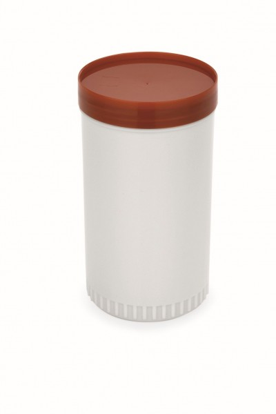 Vorratsbehälter, 2-teilig, 0,85 ltr., braun