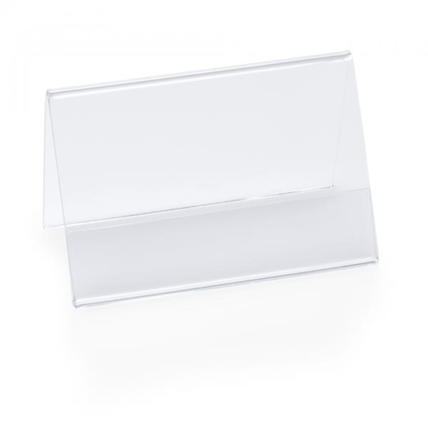 Kartenhalter, 9 x 5 x 6 cm, Acryl