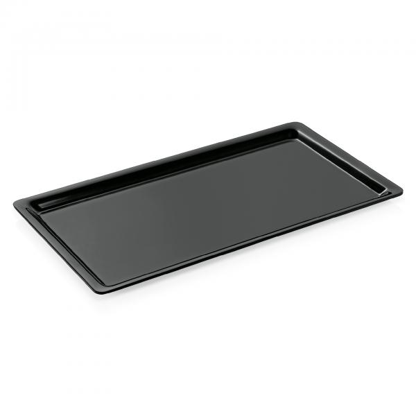 GN Behälter 1/1-020 mm, schwarz, Melamin