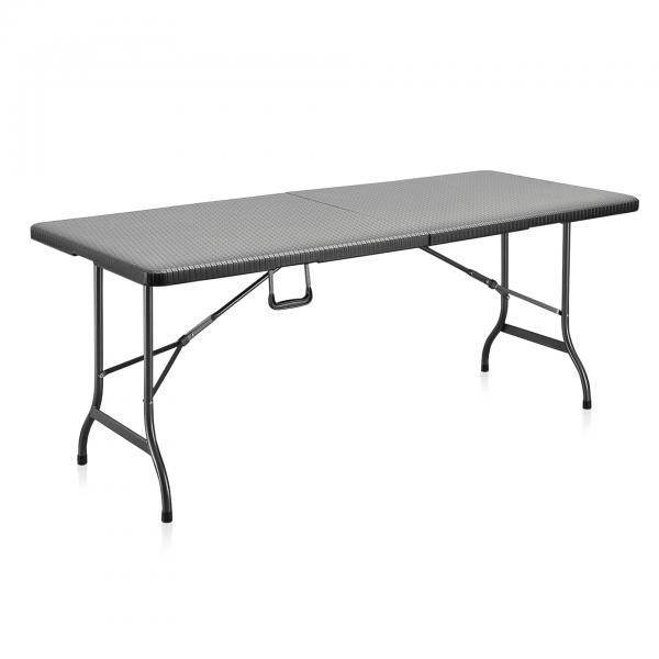 Bartisch, Rattan Design, 180 x 75 x 74 cm, HDPE