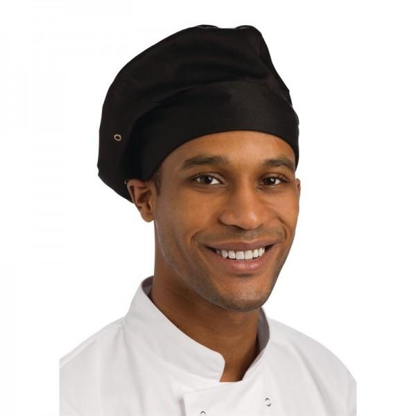 Chef Works Kochmütze schwarz