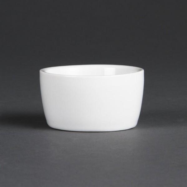Olympia Whiteware Butterschälchen 6,2cm 12 Stück