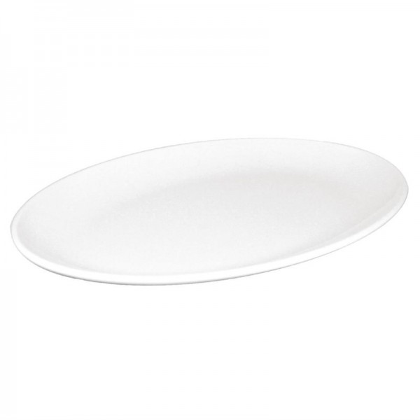Kristallon ovale Coupeteller weiß 30,5cm 12 Stück