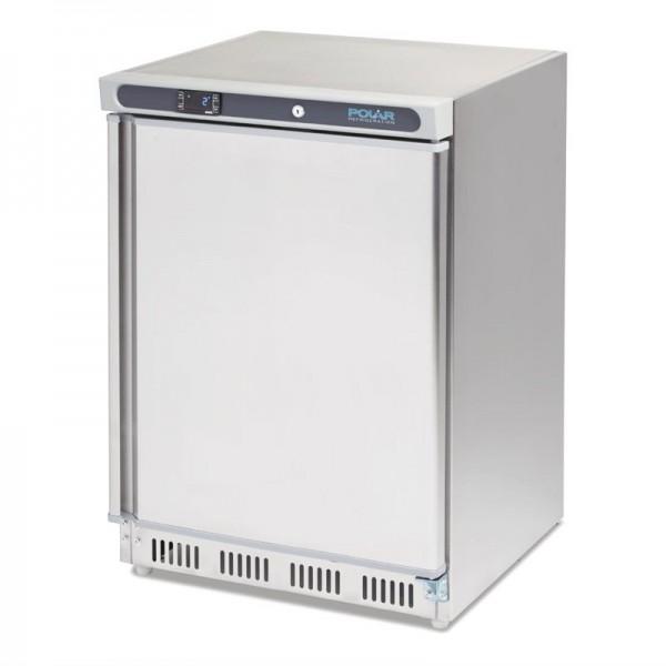 Polar Serie C Edelstahl Kühlschrank Tischmodell 150L