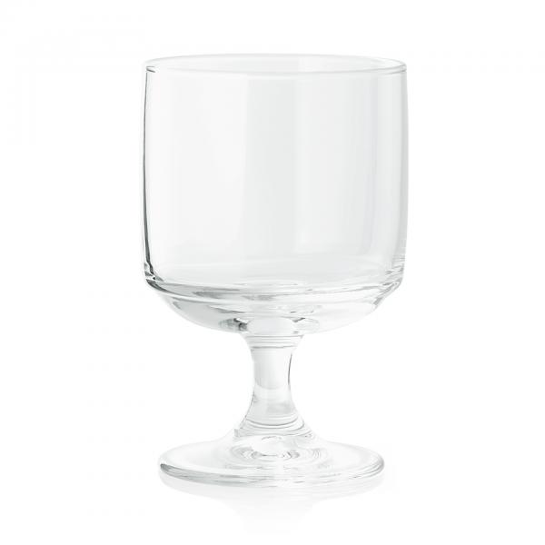 Wasserglas auf Fuß, 0,17 ltr., gehärtet