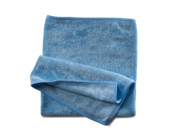 Mikrofasertuch Stretch blau 40x40 cm 10 Stk.