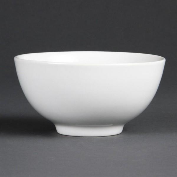 Olympia Whiteware Reisschüsseln 13cm 12 Stück