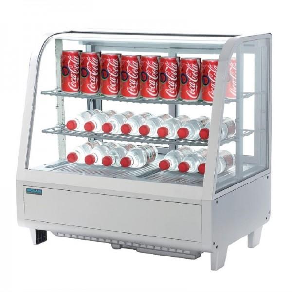 Polar Serie C Kühlvitrine weiß 100L