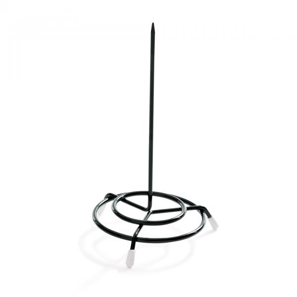 Bonspieß, 15 cm, schwarz, Stahldraht