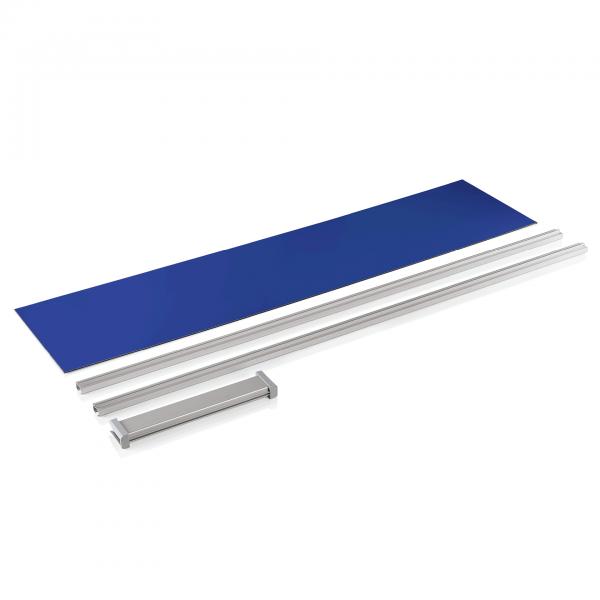 Rückwand für 1960 531, RAL 5005, blau, Premium+