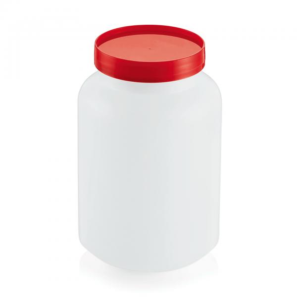 Vorratsbehälter, 2-teilig, 2,0 ltr., rot, Polypropylen