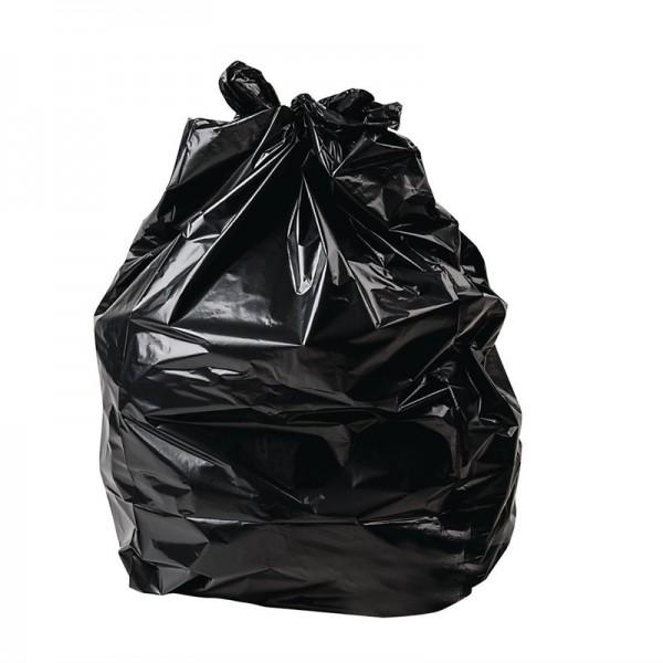 Jantex schwerbelastbare Müllbeutel schwarz 120L 100 Stück