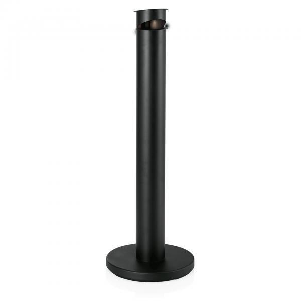Standascher, Ø 13 cm, Höhe 92 cm, Stahl pulverbeschichtet