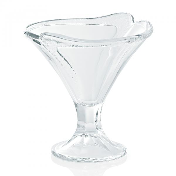 Eisbecher auf Fuß, 0,30 ltr., Glas