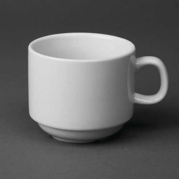 Olympia Whiteware Teetassen 20cl 12 Stück