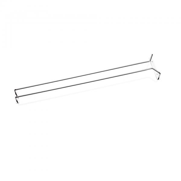 Gläserschiene, 61,5 cm, verchromt