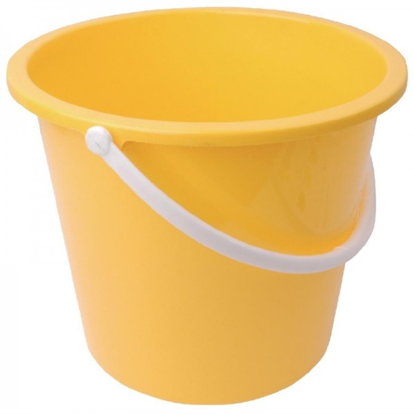 Jantex Kunststoffeimer gelb 10L