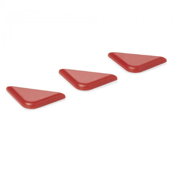 Markierungsclip HACCP, rot, für Serie 89