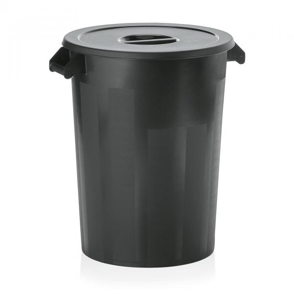 Lagerbehälter, schwarz, 100 ltr., Polyethylen