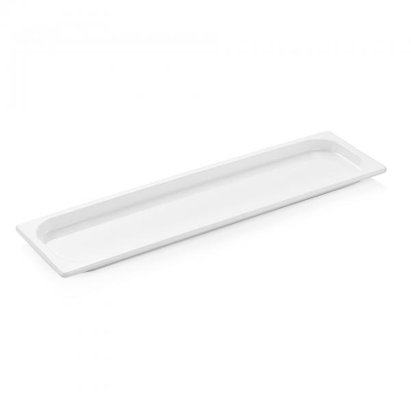 GN Behälter 2/4-020 mm, weiß, Melamin, Eco