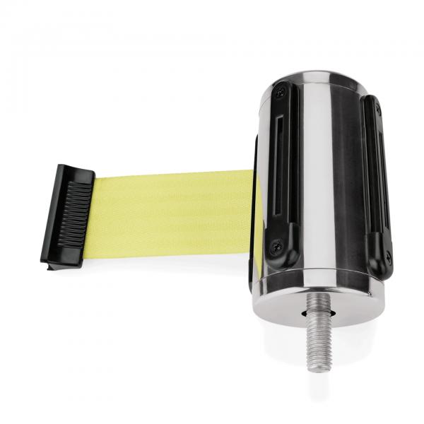 Einzelgurtband für Abgrenzungspfosten Highflex 1114 100 & 435, gelb, 3 m