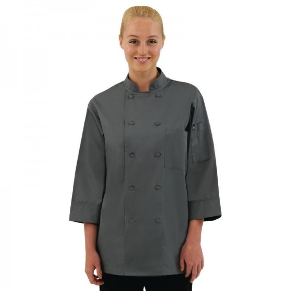 Chef Works Unisex Kochjacke grau S