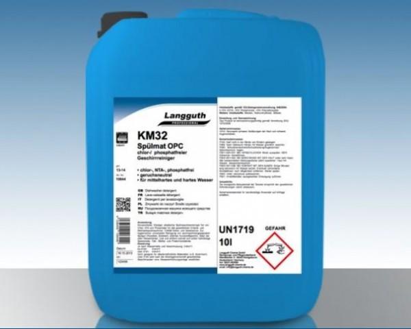 Spülmat OPC 12 kg Chlor- & Phosphatfrei Geschirrspülreiniger