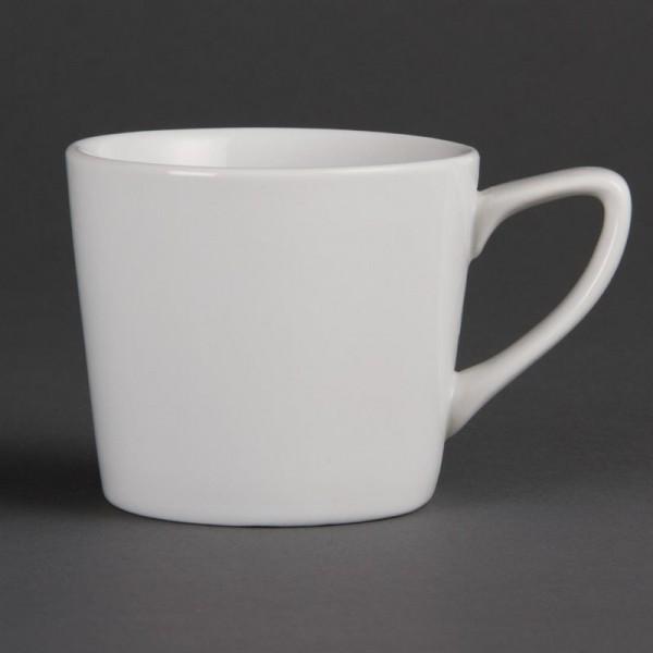 Olympia Whiteware niedrige Kaffeetassen 20cl 12 Stück