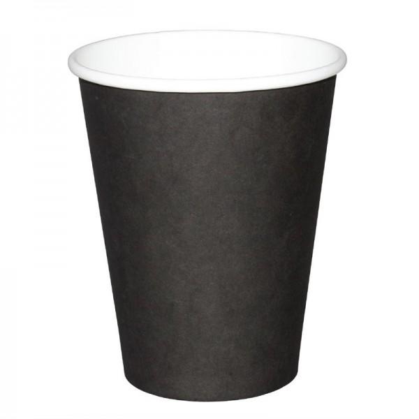 Fiesta Coffee To Go Becher 340ml schwarz x50 50 Stück