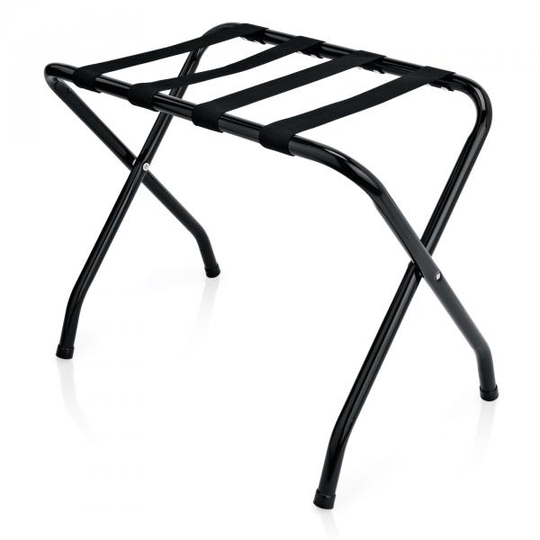 Gepäckablage, 67 x 42 x 50 cm, schwarz, pulverbeschichteter Stahl