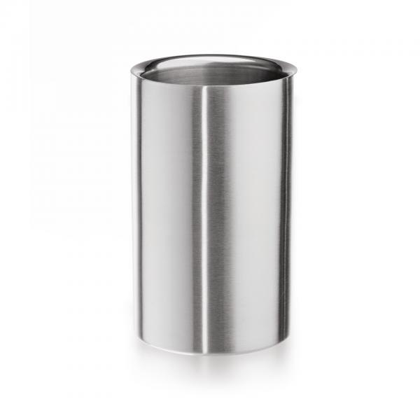 Flaschenkühler, 19 cm, Chromnickelstahl