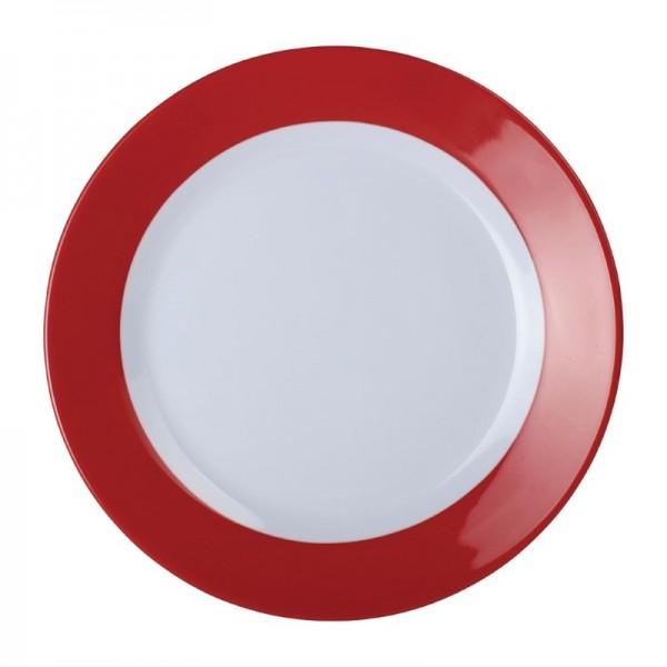 Kristallon Gala Teller rot 19,5cm 6 Stück