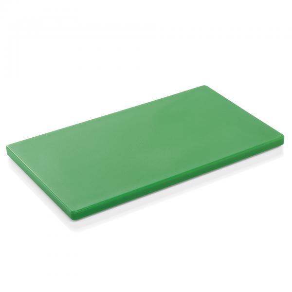Schneidbrett HACCP, 60 x 40 x 2 cm, grün, Polyethylen