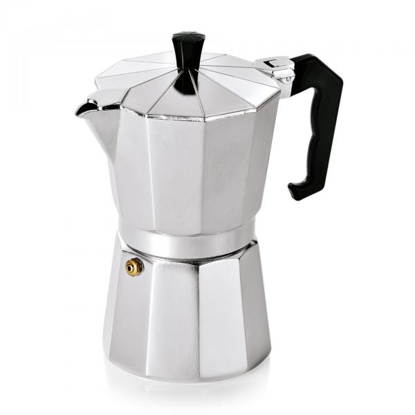 Espressokocher für 6 Tassen, Aluminium