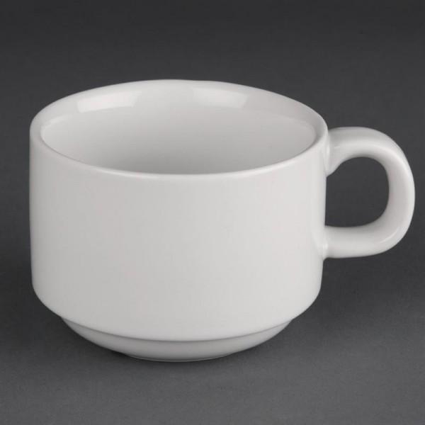 Athena Hotelware stapelbare Kaffeetassen 20cl 24 Stück