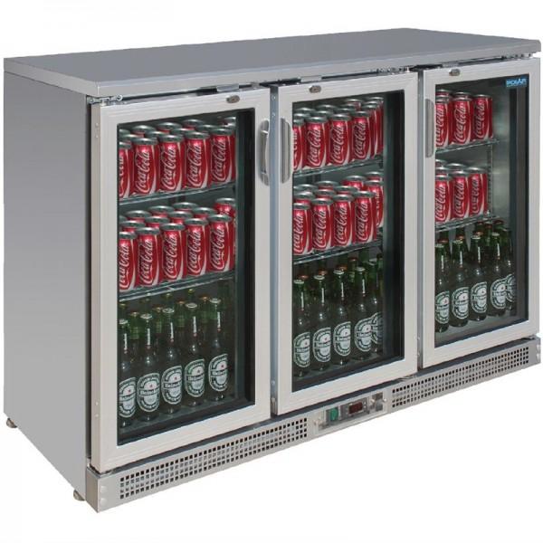 Polar Serie G Barkühlschrank 3 Klapptüren 273 Flaschen