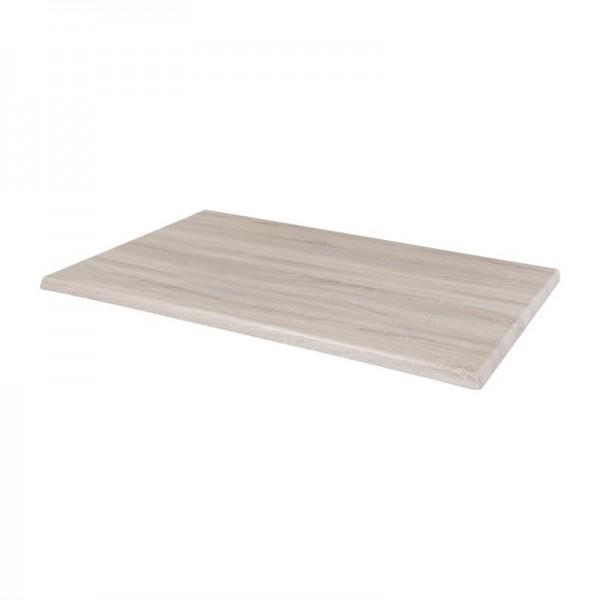 Bolero Rechteckige Tischplatte Whitewash