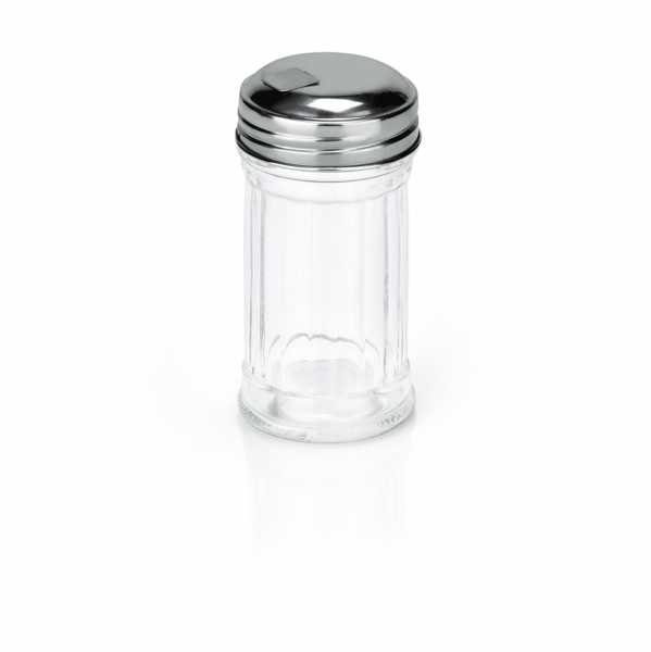 Mini Streuer American Style, 0,05 ltr., Glas/Edelstahl