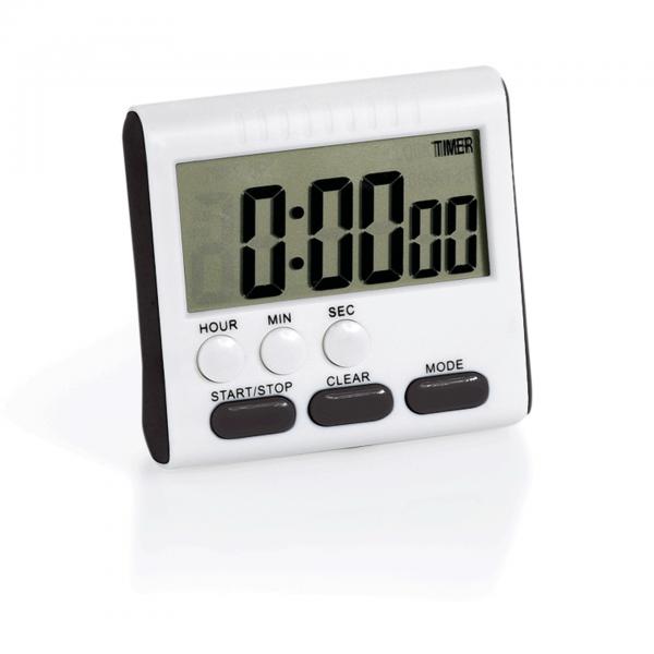 Digital Kurzzeitmesser, 7,8 x 7,8 x 2 cm, ABS