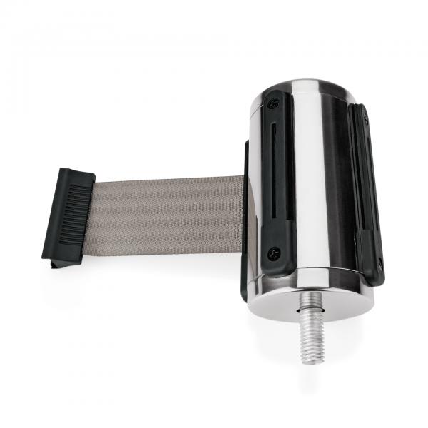 Einzelgurtband für Abgrenzungspfosten Highflex 1114 100 & 535, grau, 3 m