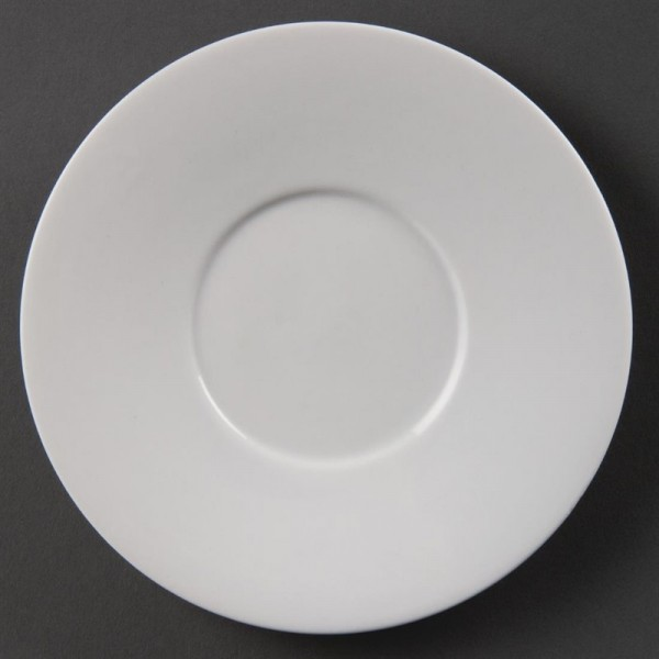 Olympia Whiteware Untertassen für CE536 12 Stück