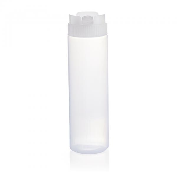 Quetschflasche mit Silikonventil, 0,75 ltr., rot, Polyethylen