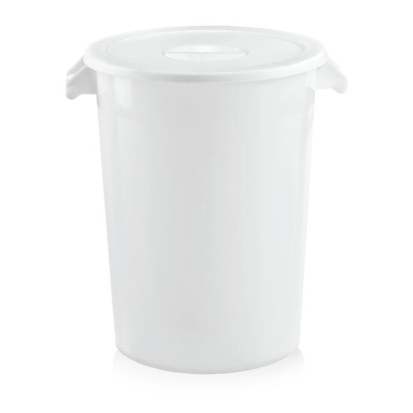 Zutaten-/Lagerbehälter, weiß, 100 ltr., Polypropylen