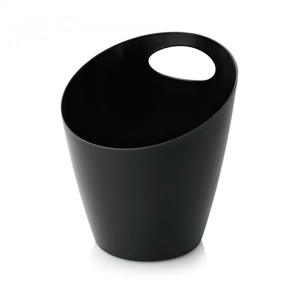 Flaschenkühler, 19 x 21,5 cm, schwarz, Polypropylen