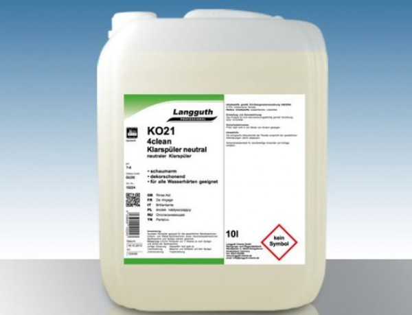 KO21 4clean Klarspüler neutral