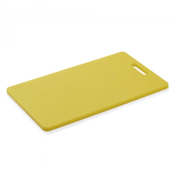 Schneidbrett HACCP, 40 x 25 x 1,2 cm, gelb, Polyethylen