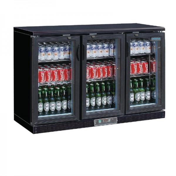 Polar Serie G 3-türiger Barkühlschrank 273 Flaschen