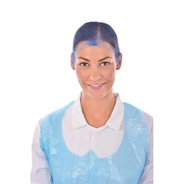 Lion Haircare Haarnetz hellblau 50 Stück